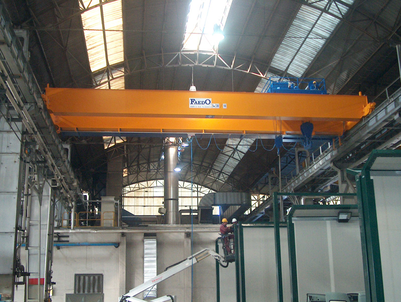 Overhead Crane Laws : Overhead cranes payload and dimension of
